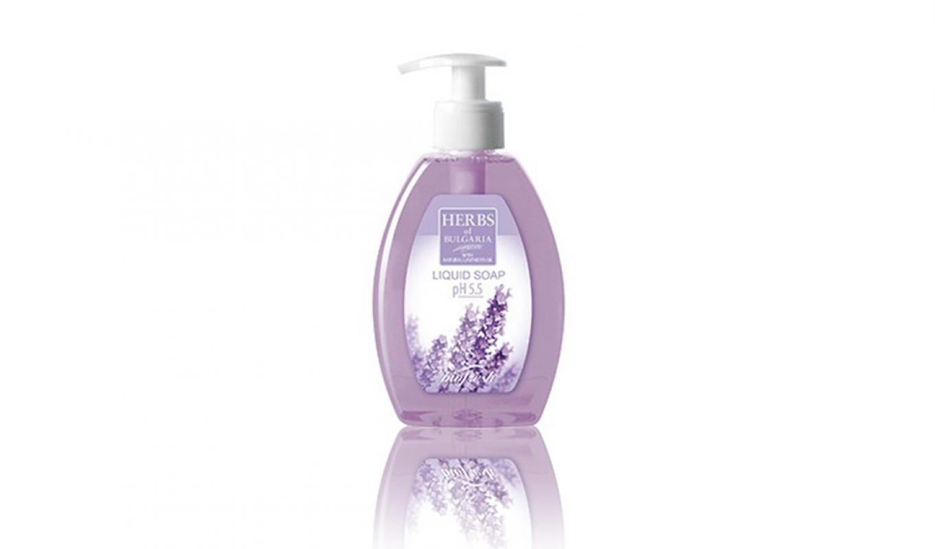 Liquid soap pH5.5 LAVENDER 300ml
