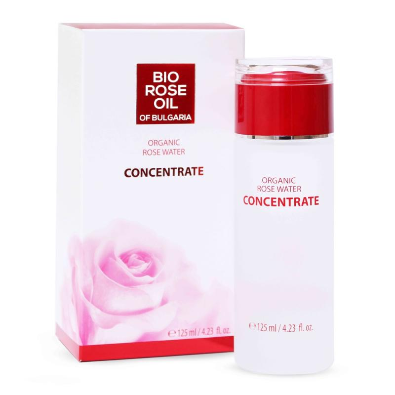 CONCENTRATE of Organic Rose water BIO ROSE OIL 125ml