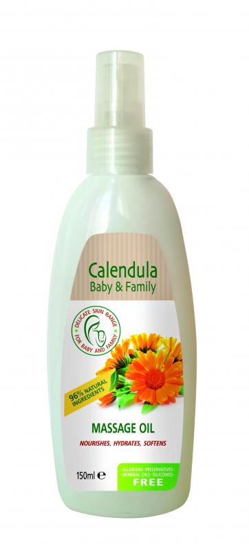 Massage oil CALENDULA FOR BABY