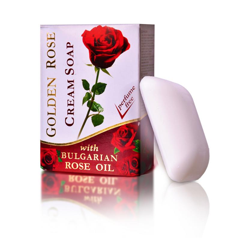 Cosmetic cream soap GOLDEN ROSE 100g