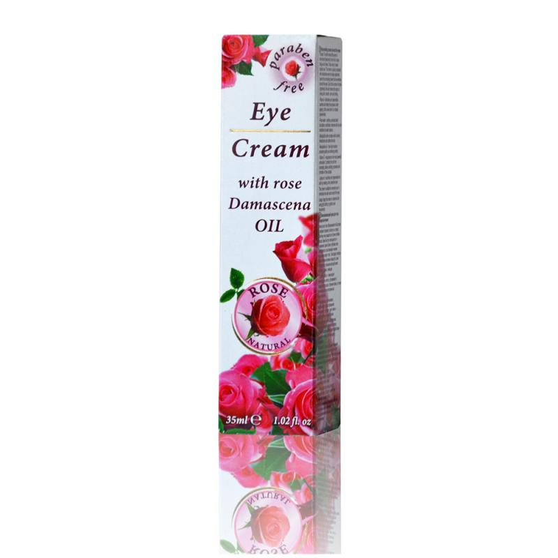 Eye cream with rose Damascena oil ROSE NATURAL 35ml