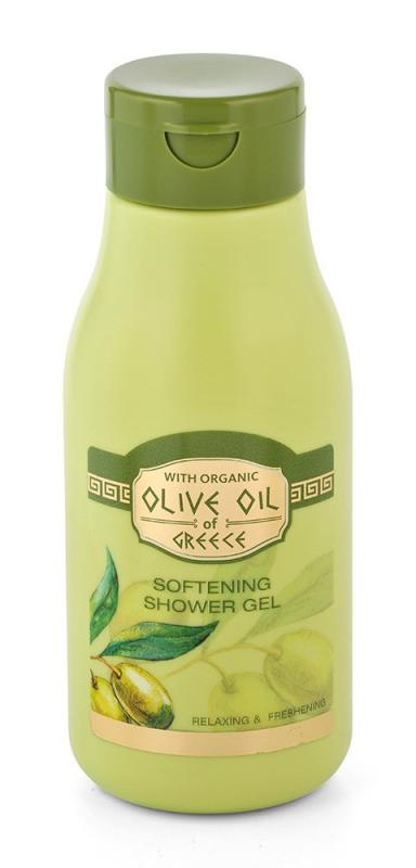 Softening shower gel OILVE OIL OF GREECE relaxing and freshening 300ml